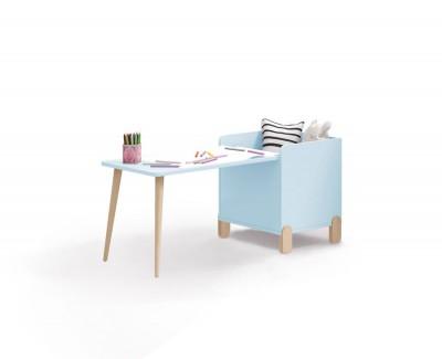 Kindertisch mit Spieltruhe