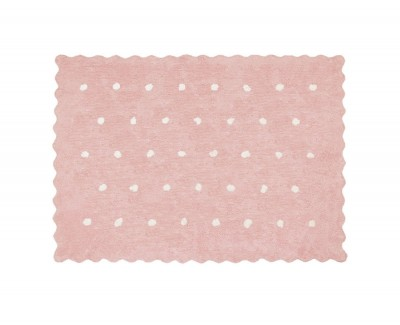 Teppich mit Punktedekor
